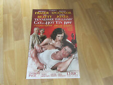 TENNESSEE WILLIAMS' Cat on a Hot Tin Roof LYRIC Theatre Poster