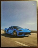 "2020 Chevrolet Corvette Stingray C8 - Z51 Prestige ""BIG"" Brochure 64 pages"