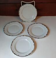 "VTG '60's MIKASA China Marlboro 9267 Set of 4 Bread Plates 6.75"" Made in Japan"