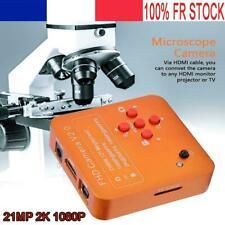 21MP CMOS HDMI C-Mount Caméra de microscope électronique numérique avec zoom