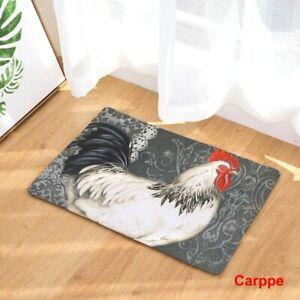 Doormat Carpets Chicken Print Mats Floor Kitchen Bathroom Rugs 40X60cm