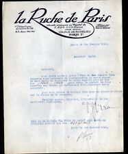 """PARIS (II°) FINANCES / TITRES & ACTIONS """"LA RUCHE DE PARIS"""" en 1925"""