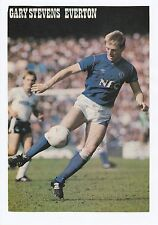 GARY STEVENS EVERTON 1981-1988 ORIGINAL HAND SIGNED MAGAZINE PICTURE CUTTING