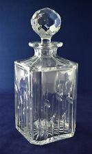 "Edinburgh Crystal ""SPEY"" Square Whiskey Decanter – 24.5cms (9-3/4″) Tall"