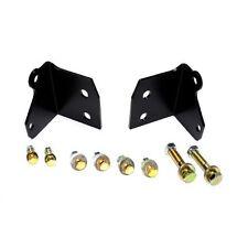 EVO Manufacturing 1113B Front Shock Relocation Bracket Kit For Jeep Wrangler JK