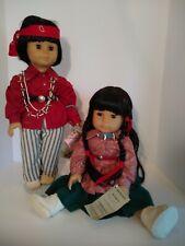 """Vintage Gotz 18"""" starshine dolls Rare Morningstar And Little Bear Dolls"""