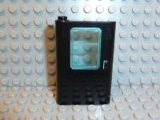 LEGO® Eisenbahn 1x Tür schwarz 4181 links mit Fenster 7750 7715 7722 7730 F877