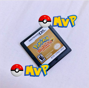 🕹Pokemon HeartGold Version Nintendo DS 2010 Cartridge Only-Authentic Test Shown