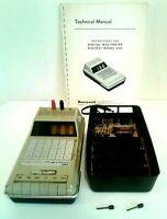 Vintage Honeywell Digitest 500 Schneider Radio Collectibles Parts Non Working