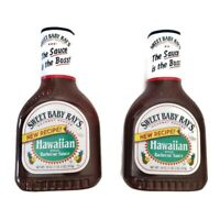 Sweet Baby Ray's Hawaiian Style Barbecue Sauce 18 oz Bottle 2 Bottles 01/2022