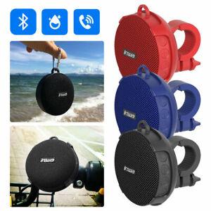 Portable Waterproof Bluetooth Bicycle Stereo Speaker Sound w/Bike Mount Wireless