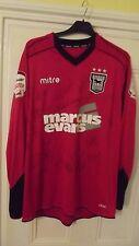 Ipswich Town FC. rara completamente firmado Portero Camisa 2012/13. J Marrón, 13
