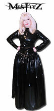 Misfitz black pvc mistress ballgown size 22 gothic goth fetish TV