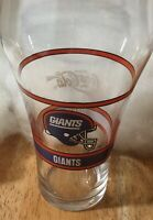 Lot of 2 NFL NEW YORK GIANTS Coca Cola Drinking Glasses 1992