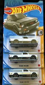 Hot Wheels Exclusive-'91GMC Syclone  Zamacs  VHTF  Limited Edition   Lot of 3.