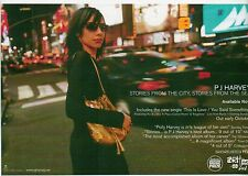 PJ HARVEY Stories From The City UK Press ADVERT 8x6""