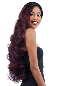 BODY WAVE 3PCS - SHAKE-N-GO SYNTHETIC MASTERMIX ORGANIQUE WEAVE EXTENSION