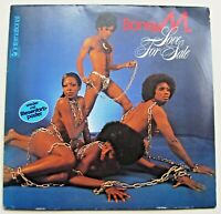 BONEY M / LOVE FOR SALE mit POSTER LP Top Zustand! Very good condition!!!