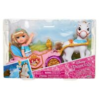 "Disney Princess Royal Carriage & Pony with Petite Cinderella 6"" Doll Playset"