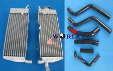 for Honda CR250 CR250R CR 250R 1988-1989 88 89 Aluminum radiator + Silicone HOSE