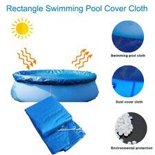 Intex 10 Foot Easy Set Above Ground Swimming Pool Debris Vinyl Round Cover Tarp