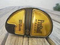 Wilson Pro Staff Mallet Black 35 inch Putter Golf Club Right Hand Steel Shaft St