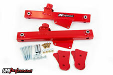 UMI 1979 - 1998 Ford Mustang Rear Lift Bars - Red