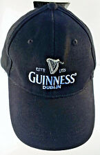GUINNESS Beer Black Hat Cap LOGO w/Tag