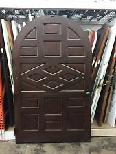"""Front Door arched Spanish Style 87 X52"""" Wide Entry"""