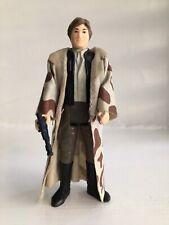 Vintage Star Wars Figure Han Solo Endor Trench Coat Complete Original (No4)..