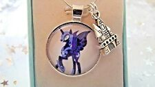 MY LITTLE PONY PRINCESS LUNA NIGHTMARE MOON PALACE NECKLACE 18 INCH Gift Box