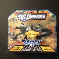 DC UNIVERSE ACTION LEAGUE Flashpoint Project: SUPERMAN VS BATMAN 2 PACK