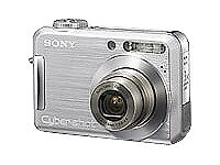 Sony Cyber-shot DSC-S700 7.2MP Digital Camera - Silver + 1gb Memory Stick