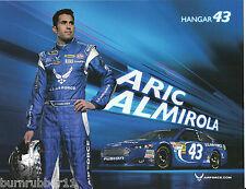 "2013 ARIC ALMIROLA  ""U.S. AIR FORCE #43"" NASCAR SPRINT CUP SERIES POSTCARD"