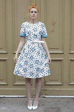 Damen Kleid dress Rockabilly Rock and Roll Punkte 50er True VINTAGE 50´s dots