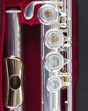 NEW Gemeinhardt 3OSB -NG1 Silver Flute, GOLD LIP, Open-Hole B-foot offset G 30SB