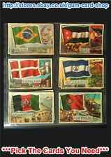 A&BC FLAGS OF THE WORLD (95 X 67MM)  CARDS 41 TO 80 (G/F) *PLEASE SELECT*