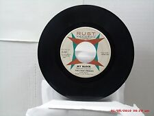 THE FOUR PENNIES -(45)- MY BLOCK / DRY YOUR EYES (INSTRUMENTAL) - RUST 5071-1963