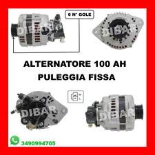 ALTERNATORE 100AH PULEGGIA FISSA HONDA-OPEL ASTRA G-COMBO-CORSA C LR1100502A