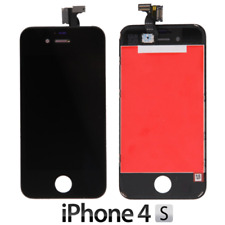 IPHONE 4S LCD SCHERMO DISPLAY RETINA TOUCH SCREEN VETRO FRAME NERO QUALITà OEM