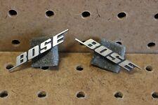 Bose 901 Metal Speaker Grill Logo Badges