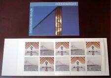 Faroe Stamp Booklet #16 1998 Christmas Frederick's Church Nes - Mnh - Excellent!