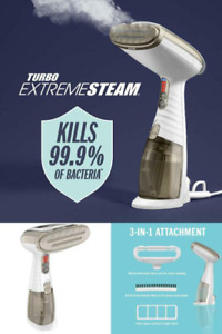 Upholstery Steam Hand Held Machine Vapor Small Fabric Cleaning Steamer 3 Attach
