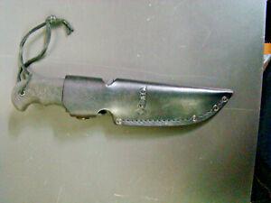 Cutco Hunting Knife 5719 KP With Leather Sheath