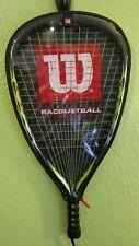 Wilson Hyper Extreme Powerholes Iso-Zorb Racquetball Racket, very light wear