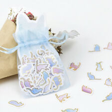 100Pcs Cute Animal Cat Mini Paper Sticker DIY Diary Album Decor Scrapbooking