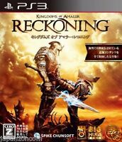 Used PS3 Reckoning SONY PLAYSTATION 3 JAPAN JAPANESE IMPORT