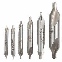 6PCS Bit Tackle Countersink Lathe Kit Set Tool Center Drill Mill Combined HSS