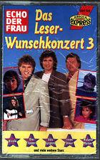 Echo der Frau - Das Leser-Wunschkonzert 3 - Musik-Kassette neu original 1993
