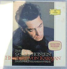 HERBERT VON KARAJAN Beethoven 9 Symphonies 8-LP BOX SET W/BOOKLET 1965